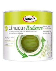 Linucur Balance Leinsamenkeimpulver mit Flohsamenschalen (200g)