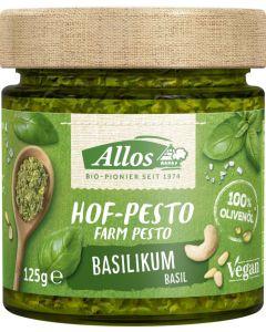 Pesto Basilikum Bio (125g)