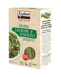 Spaghetti aus Edamame & Spirulina (200g)