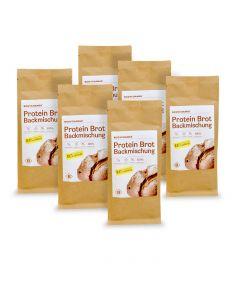 Sparpaket: 6x Protein Brotbackmischung