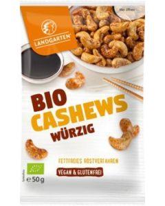 Bio Cashews würzig (50g)
