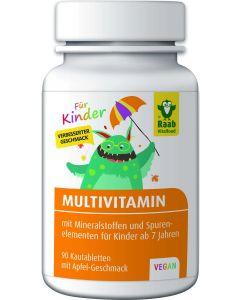 Multivitamin für Kinder Apfel (90 Lutschtabletten)