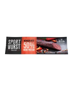 Sport Wurst - Rind & Chili mit 50% mehr Protein*